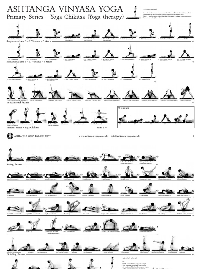 3050643 Ashtanga Vinyasa Yoga Primary Series