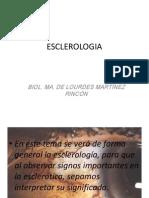 ESCLEROLOGIA Unidad 3 Para Examen Mayo 23 de Mayo