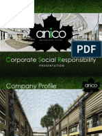 Anico Corporate Social Responsibilty (CSR)
