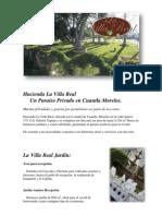 Info La Villa Real 2011