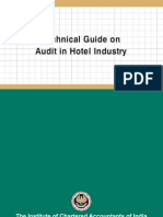 Technical Guide on Audit in Hotel Industry - AASB