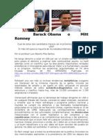 Barack Obama o Mitt Romney