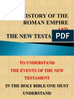 History of the Roman Empire and the New Testament