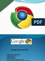 Google Chrome OS Ppt