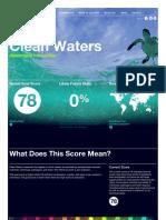 GoalsClean Waters