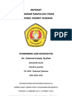 Referat Gambaran Radiologis pada Chronic Kidney Disease