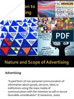 Princples of Advertising Chap 1