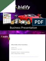 Bidify Presentation Nkedem