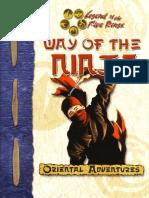 Rogukan - Way of the Ninja by Azamor
