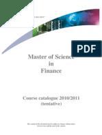 Mif Tentative Course Catalogue-2010 (1)