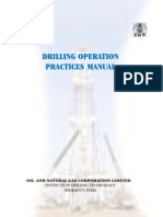 ONGC - Drilling Operation Practices Manual.-2007