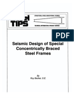 Seismic Design of Concentrically Braced Frames