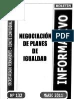 Negociacion Planes Igualdad CGT