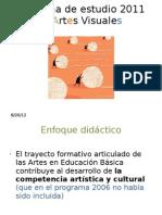 Presentación del Programa de Artes Visuales 2011