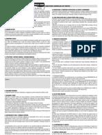 Contrat d'Abonnement Verso 2012