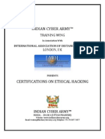 Indian Cyber Army Training Information Brochure