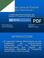 15446981 Organismos Internacionales Que Regulan El Transporte Multimodal
