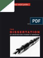 The Dissertation - An Architecture Student_s Handbook