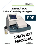 Bayer CLINITEC 500 Urine Chemistry Analyzer Service Manual