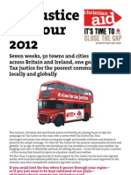 Tax Justice Bus Promo Leaflet