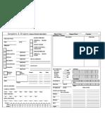 Basic DD Sheet