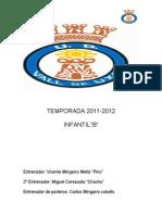Temporada 2011 Infantil b Ude
