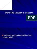 6 - Retail Location and Site Selection
