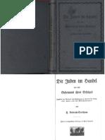 Roderich-Stoltheim, Ferdinand - Die Juden Im Handel Und Das Geheimnis Ihres Erfolges (1913, 137 Doppels., Scan, Fraktur)