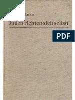 Rose, Franz - Juden Richten Sich Selbst (1938, 307 S., Scan)