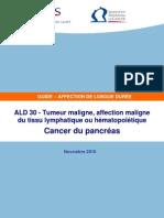 Cancer Du Pancreas