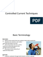 Controlled Current Techniques 1 Part
