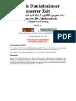 Rosenberg, Alfred - An Die Dunkelmaenner Unserer Zeit (32. Auflage 1935, 116 S., Scan, Fraktur)
