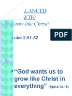 Growing Like Christ [DISCIPLESHIP]