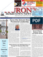 Huron Hometown News - August 16, 2012
