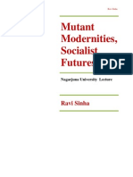 Mutant Modernities, Socialist Futures by Ravi Sinha