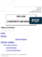 487744 FM 5428 Concrete and Masonry