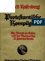 Rosenberg, Alfred - Protestantische Rompilger (4. Auflage 1937, 89 S., Scan, Fraktur)