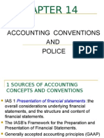 Chapter14-Accounting Conventions and Police