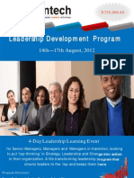 August LDP Brochure
