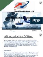 bsnl training presentation