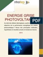 Innhotep - Energie Grise Et PV - 2010
