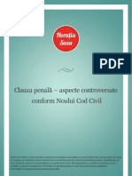 CLAUZA PENALA