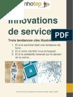 Innovations de services - Trois tendances clés illustrées - Innhotep 2009