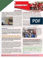 AAR Beckmann Trust- July  2012 Newsletter