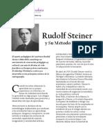 Rudolf-Steiner y El Metodo Waldorf