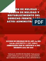 ACCIÓN DE NULIDAD Y RESTABLECIMIENTO DEL DERECHO FRENTE (5)