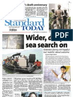 Manila Standard Today -- August 21, 2012