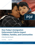 How Today's Immigration Enforcement Policies Impact Children, Families, and Communities