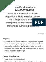 NORMA Oficial Mexicana 005