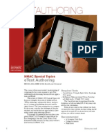 EText Authoring, Fall 2012